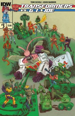 IDW Transformers vs. G.I. Joe #3 Full Preview