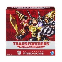 Transformers News: Transformers Platinum Edition Predaking Listed on HasbroToyShop