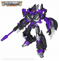 Transformers News: TFSS 2.0 Decepticon Barricade Revealed