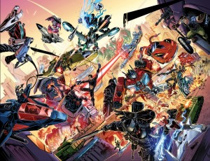 Transformers News: IDW Hasbro Comics Crossover: Revolution - MASK, Transformers, Action Man, Micronauts, ROM, GI Joe
