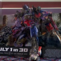 Transformers News: Transformers DOTM Theater Display
