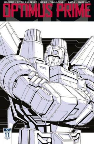 Transformers News: IDW Optimus Prime #11 Review
