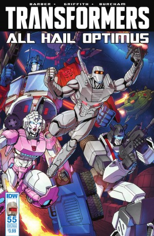Transformers News: IDW The Transformers #55 Possibly Postponed