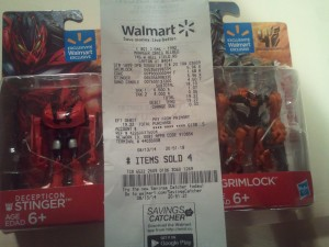 Transformers: Age of Extinction Legion Class (Walmart Exclusives) Sighted at US Retail