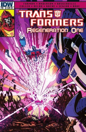 IDW Transformers ReGeneration One #0 Review