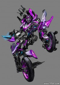 Concept Art for Third ROTF Arcee Bike Revealed!