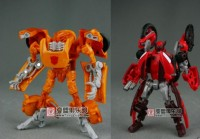 More Images of Revenge of the Fallen Scouts 'Orange Dead End' and 'Red Knockout'