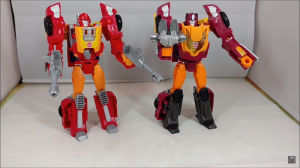 Transformers News: Video Review of Takara Tomy Transformers Legends LG45 Targetmaster Hot Rod