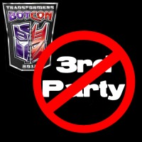 Transformers News: 3rd Party Ban at Botcon 2012?