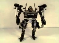 Transformers News: Video Review of Transformers DOTM Deluxe Class Mech Tech Barricade