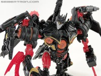 Transformers News: New Toy Galleries: ROTF Deluxe Black Soundwave & DOTM Cyberverse Legions Leadfoot, Sideswipe, Ratchet, & Mudflap