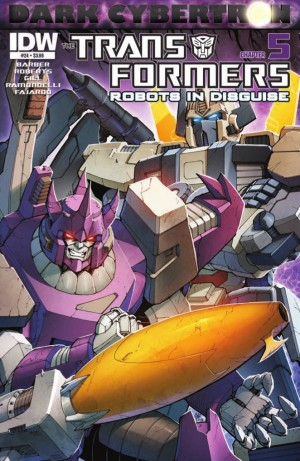 Transformers News: IDW Transformers: Robots in Disguise #24 (DC5) Preview
