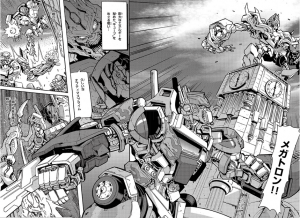 Transformers Live Action Movie Trilogy Manga Recap