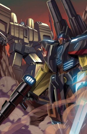 IDW Transformers Titans Return One Shot Subscription Cover Revealed