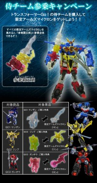 Transformers News: New Image of Takara Tomy Transformers Go! Campaign Microns