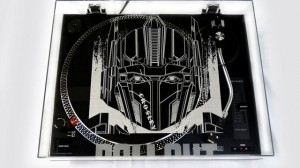 Hasbro and Sony Transformers 'ROLL OUT' Album - Exclusive Prime Crosley Turntable