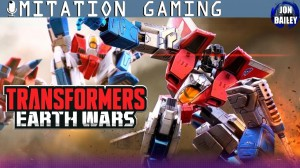 Transformers News: STARSCREAM plays TRANSFORMERS: EARTH WARS