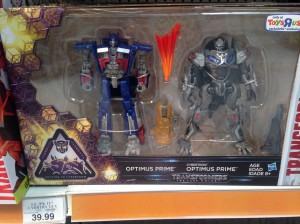 Mission to Cybertron Transformers: The Last Knight Optimus Two-Pack Sighted at US Retail