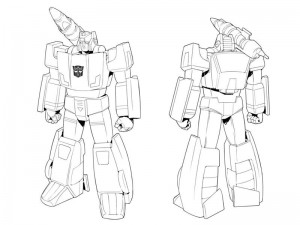 Transformers News: New Transformers: Devastation Bio and Model Sheet - Sideswipe