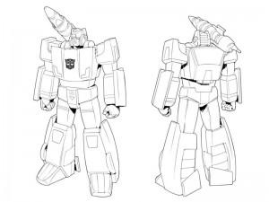 New Transformers: Devastation Bio and Model Sheet - Sideswipe
