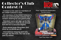 Transformers News: Upgrade with DASH and Win a Masterpiece Thundercracker