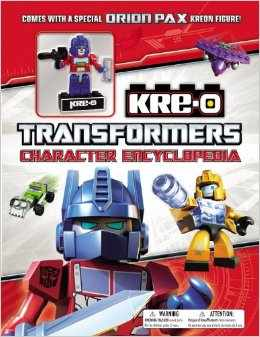 Transformers News: Transformers: Kre-O Character Encyclopedia Exclusive Orion Pax Kreon Revealed
