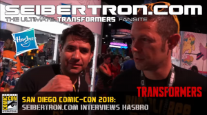 Transformers News: Video Interview and Transcript with Hasbro Transformers Brand Team at #SDCC2018 #HasbroSDCC