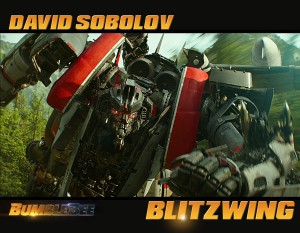 Transformers News: David Sobolov confirmed to voice act Blitzwing in Bumblebee