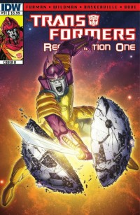 Transformers ReGeneration One #91 Script (W)Rap