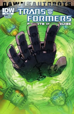 IDW TRANSFORMERS: ROBOTS IN DISGUISE #33 FULL PREVIEW