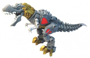Transformers News: First look at Hero Mashers - Age of Extinction Grimlock, Drift / Bludgeon?