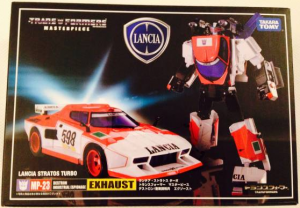 Transformers News: Takara Tomy Transformers Masterpiece MP-23 Exhaust In-Box Images