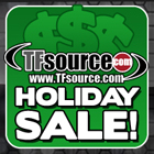 TFsource 12-3 SourceNews! Holiday Sale Continues!