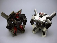 New Takara Tomy Transformers Masterpiece MP-17 Prowl and MP-18 Bluestreak Images