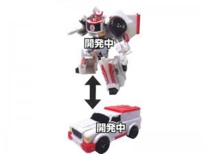 New Stock Images - Takara Tomy Transformers Adventure TAV58 to TAV62: God Optimus, Ratchet, Secret Character