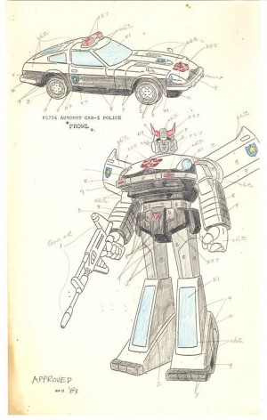 Transformers G1 Production Arts Revealed, Some Now up on Ebay