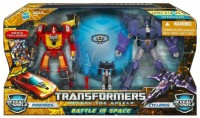 """Reveal The Shield """"Battle in Space"""" Rodimus and Cyclonus now shipping from Amazon"""
