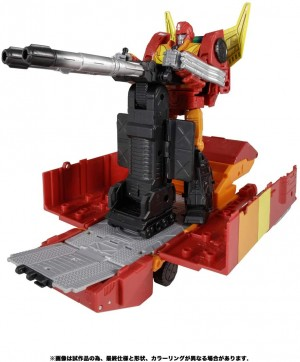 Takara reveals Kingdom Commander Class Rodimus Prime and other products