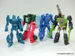 Transformers News: In-Hand - Transformers Titans Return Wave 1 Deluxes with Transformers Asia Sticker Sheet