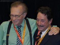 Transformers News: SDCC 2012 Coverage: Larry King interviews Peter Cullen