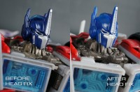 Head fix instructions for Transformers Prime First Edition Voyager Class OPTIMUS PRIME