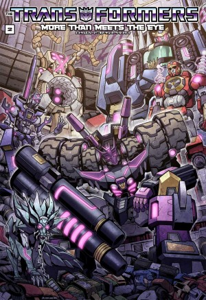 Transformers News: Cover Revealed for Japanese Version of IDW Transformers More Than Meets the Eye Volume 2