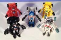 Transformers Bot Shots Wave 1 Video Reviews