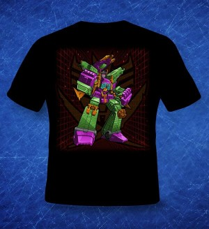 Transformers News: BotCon 2014 Official Scorponok T-Shirt Revealed