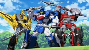 New Transformers Go! Opening and Ending Themes