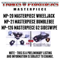 Transformers News: BBTS Sponsor News: Masterpiece Transformers, Portal, Bioworld, Predators & More