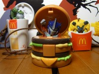New Images of McDonald's Food x Transformers: Prime - Bulkhead, Bumblebee and Optimus Prime