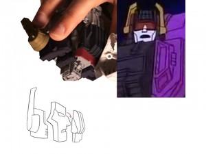 Transformers News: Earthrise Titan Class Scorponok's Head to be Based on Rebirth Cartoon
