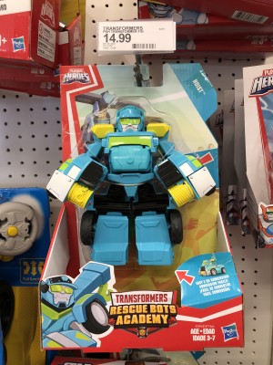 Transformers Rescue Bots Academy Playschool Heroes Hoist Spotted at US Retail