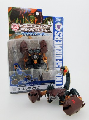 Transformers News: Takara Tomy Transformers Adventure Scorponok New Images and Packaging